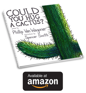 "Click here to get ""Could You Hug A Cactus?"" on Amazon!"